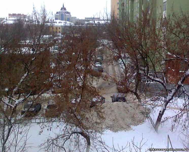 Уборка снега в ленинградской области